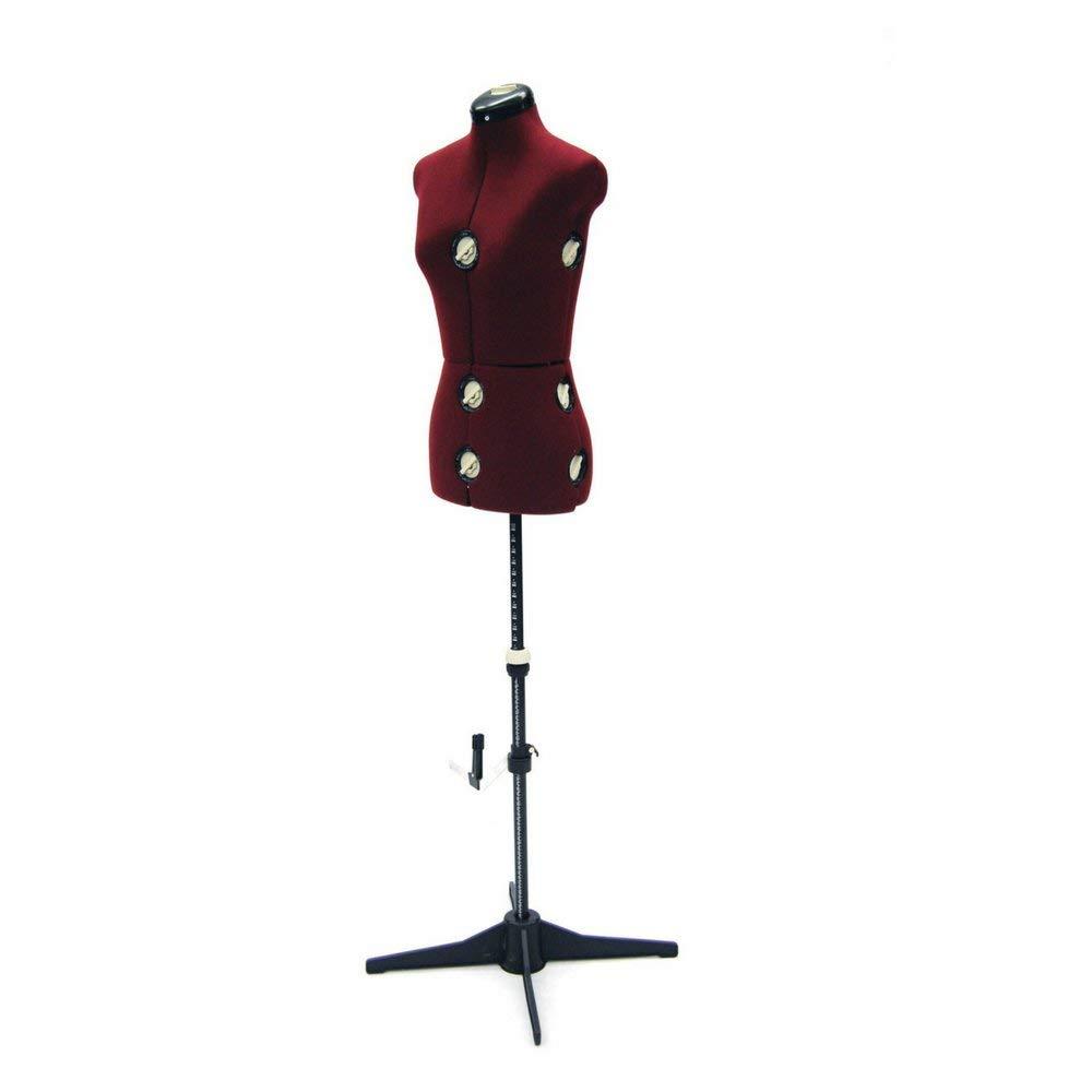 Charmant Female Adjustable Dress Form For Sewing   12 Dial Fabric Female Adjustable  Sewing Form With Base