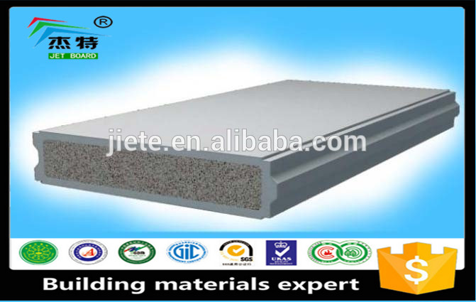 Low Cost Energy Saving Prefabricated House aluminum sandwich panel eps sandwich panel
