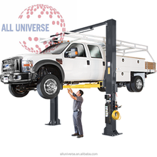 outdoor hydraulic clear floor car hoist /car lift with CE