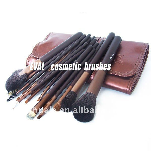 The small pcs high end natural hair make up brush set