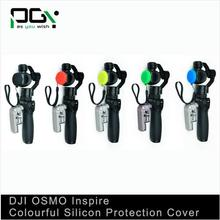 PGY 5pcs(5 Colors) DJI Inspire1 OSMO X3 Gimbal Camera Lens Silicon Protection Case Cover Lens Cap/ Cover/ FPV