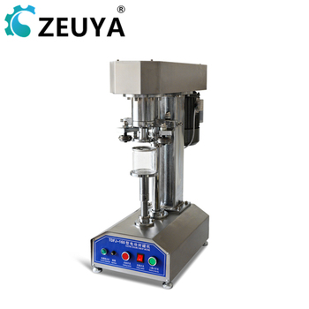 Semi Automatic Stainless Steel Cover Tin Can Sealing Machine TDFJ-160S