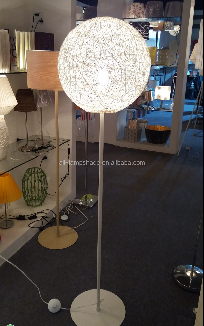 Modern Beautiful Round Ball String Floor Lamp For Home Decoration ... for String Floor Lamp  67qdu