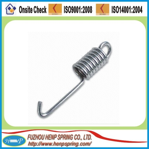 stainless steel double hook extension <strong>spring</strong> made in China
