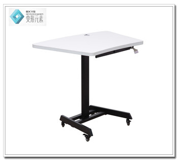 Ergonomic Gas Spring Adjustable Height Table As Meeting Table Buy - Height of a conference table