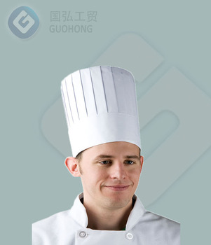cheap price chef hats disposable chef hat rectange top hight