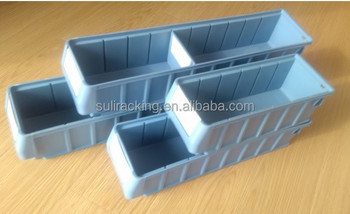 Warehouse Plastic Bins With Dividers For Racking - Buy Stackable Plastic  Bins,Storage Box,Plastic Bin Product on Alibaba com