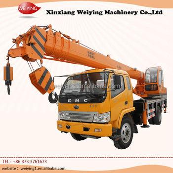 10 Ton Truck Crane Mobile Crane For Sale In China