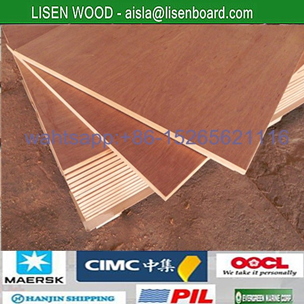 100 Full Keruing Wood Panels Container Flooring Plywood