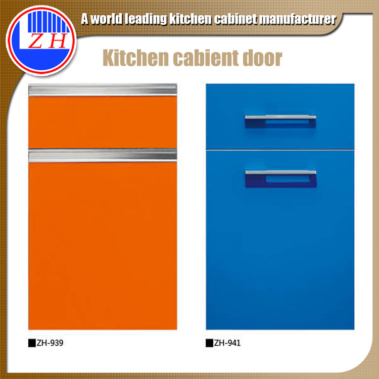 Dubai Project High Gloss Acrylic Kitchen Cabinets Door Supplier Cheap Price
