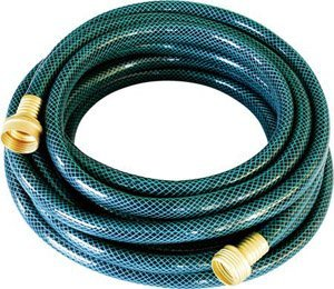 PVC Coiled Fabric Lightweight Garden Hose View fabric garden hose