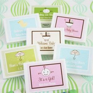 Babies are Sweet Gum Boxes - Baby Shower Gifts & Wedding Favors Set of 24