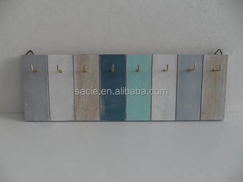 Wooden MDF Key Box Key Hooks Home Decorations