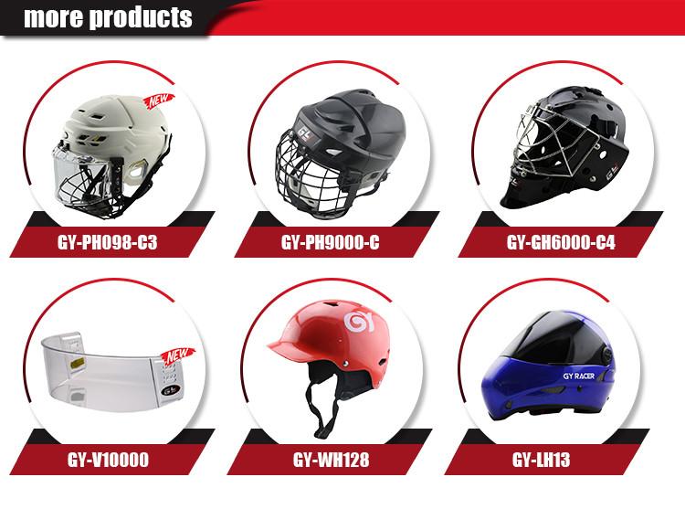 2017 New Design Ice Hockey Goalie Helmet Field Hockey Goalie Helmet