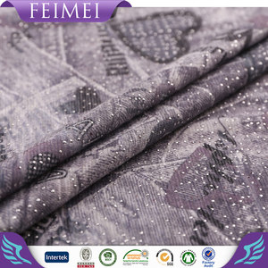 2016 Famous Brand Useful 95 cotton 5 lycra fabric with high quality