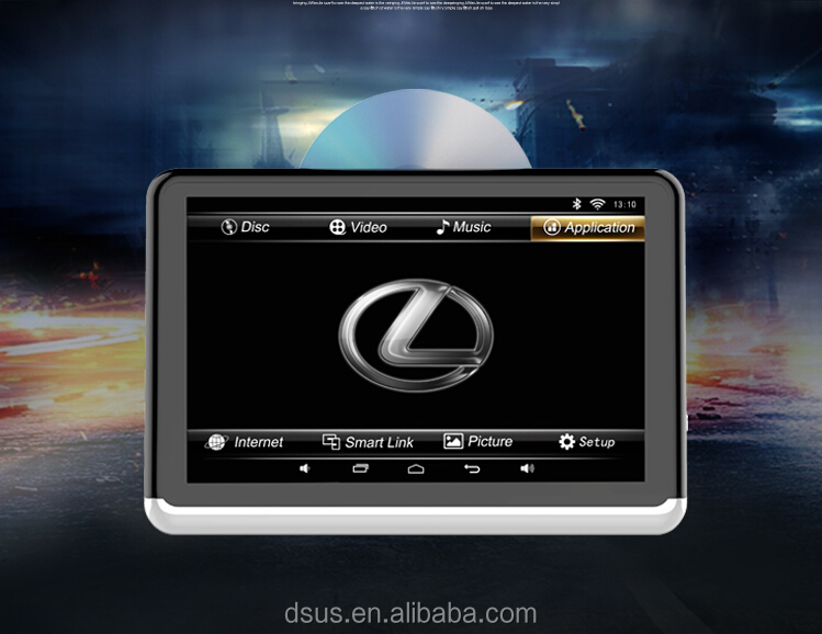 2 DIN Android 6.0 Universal car dvd Tablet Support Screen Sharing/WIFI