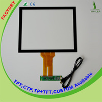 "17"" touch screen digitizer,USB Multi touch screen with EETI chip from Yunlea"
