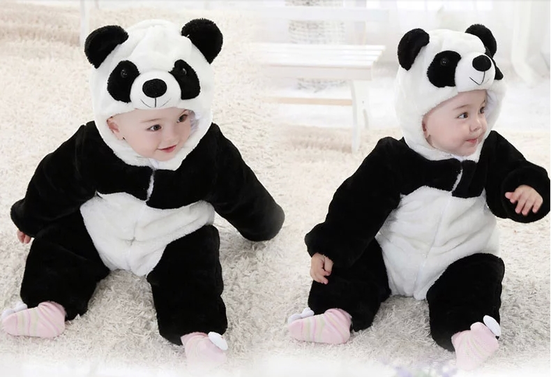 Venta Caliente El 70 Venta Caliente Siameses Ropa De Bebe Gemelas Estilo Panda Mayor 2015