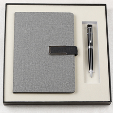 Aangepaste Promotionele Business <span class=keywords><strong>Premium</strong></span> Notebook Gift Set met Pen