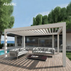 /product-detail/motorized-metal-garden-pergola-louvered-aluminum-outdoor-gazebo-60811106653.html