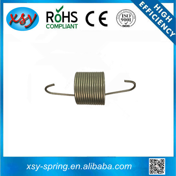 stainless steel made doubl hooks track tension spring