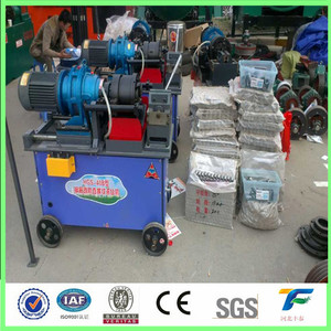 best price Construction Rebar Parallel Thread Rolling Screw Making Machine