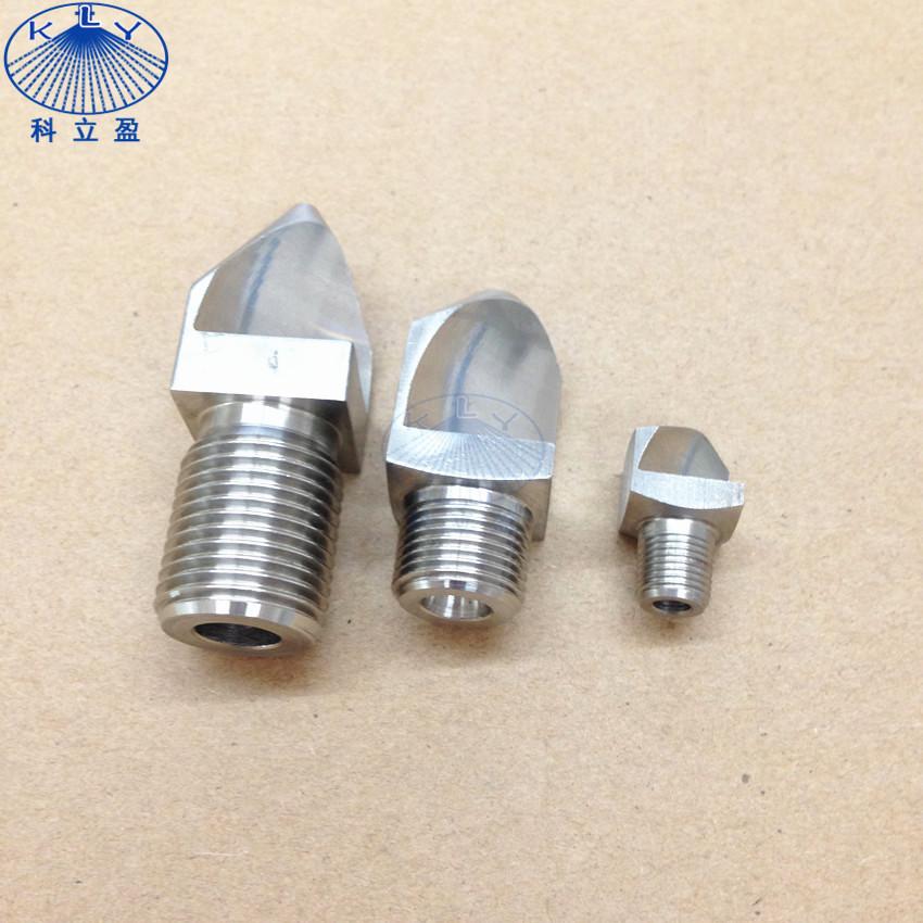 Stainless Steel spray fan water jet nozzle