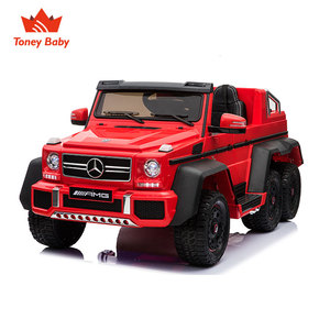 2018 Newest Benz G63 6X6 kids electric ride on Parent-Child kids car
