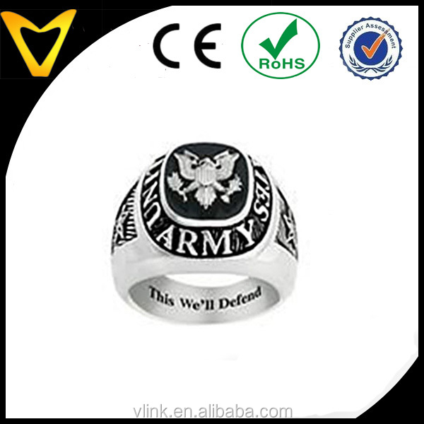 fashion stainless steel jewelry u s armed forces military service