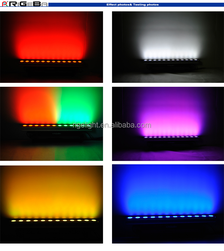 High Power Full Color 12x10 W Rgbw 4 In 1 Led Wall Wash Light ...