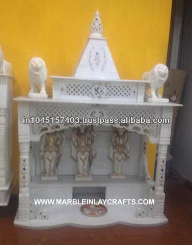 Marble Temple Designs For Home   Buy Makrana Marble Temple,Home  Mandir,Marble Indian Temple Product On Alibaba.com