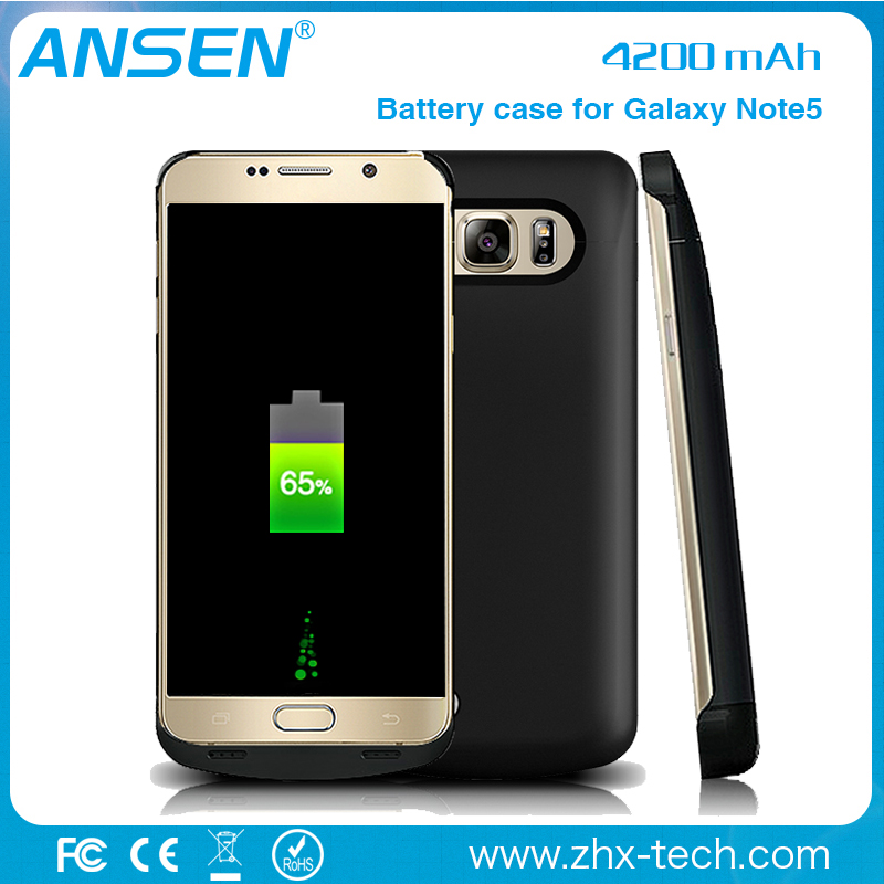 Newest Fashion Power Bank Charger rechargeable battery for Samsung Note 5 Battery Case