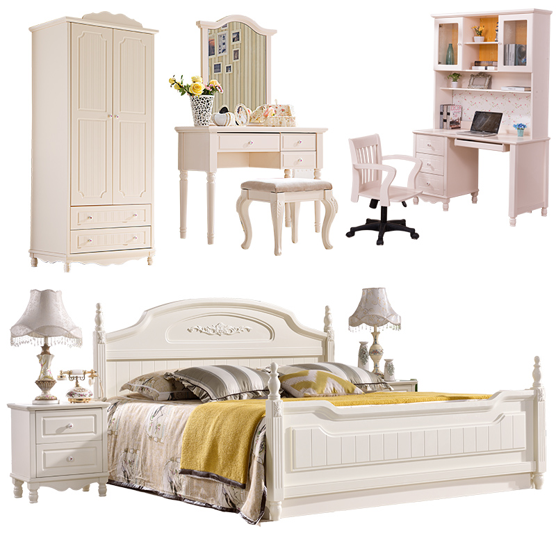 China Wholesale Furniture White Modern Wooden Single Children Bed with  storage. Wholesale AFAMILY Hotel bedroom furniture modern bedroom set new