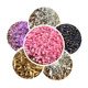 Silver Lined Round Hole Miyuki Glass seed beads in bulk