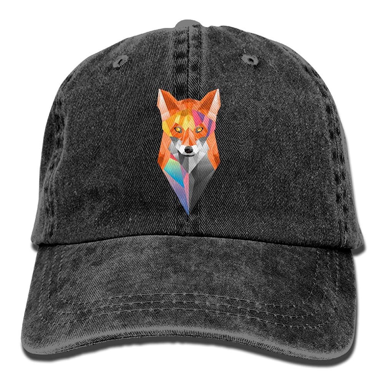 2d61cc1af6b Get Quotations · NZMCAP Fox Animals Unisex Baseball Caps Cool Snapback Hats  Crazy Trucker Hats Unique Denim Cap