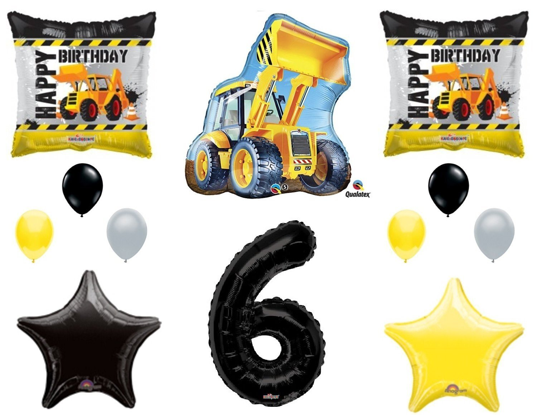 Buy Dump Truck Construction Tractor Party Supply Kit - Dessert ...