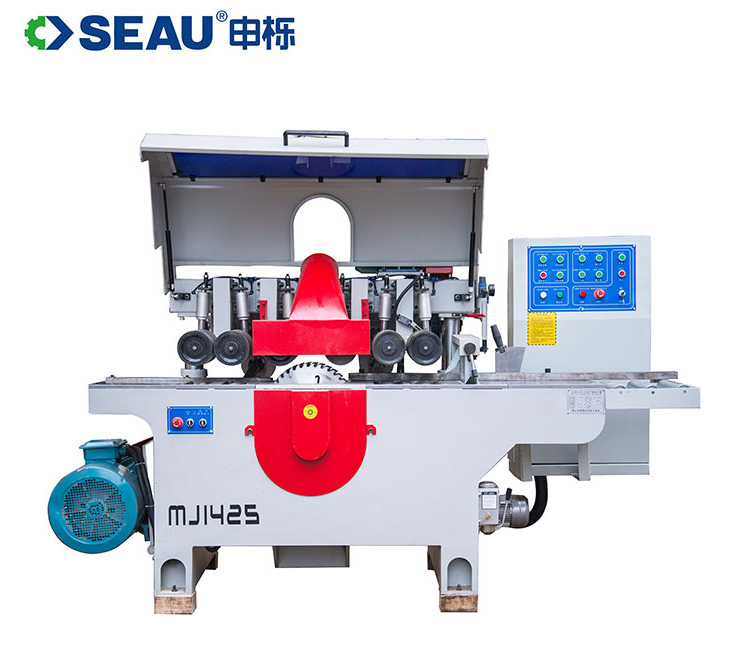 MJ1425 Automatic woodworking double side rip sawing machine for wood cutting