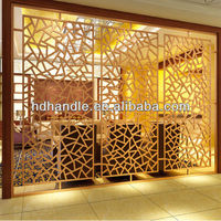 Whole sale! wrought iron partition supplier