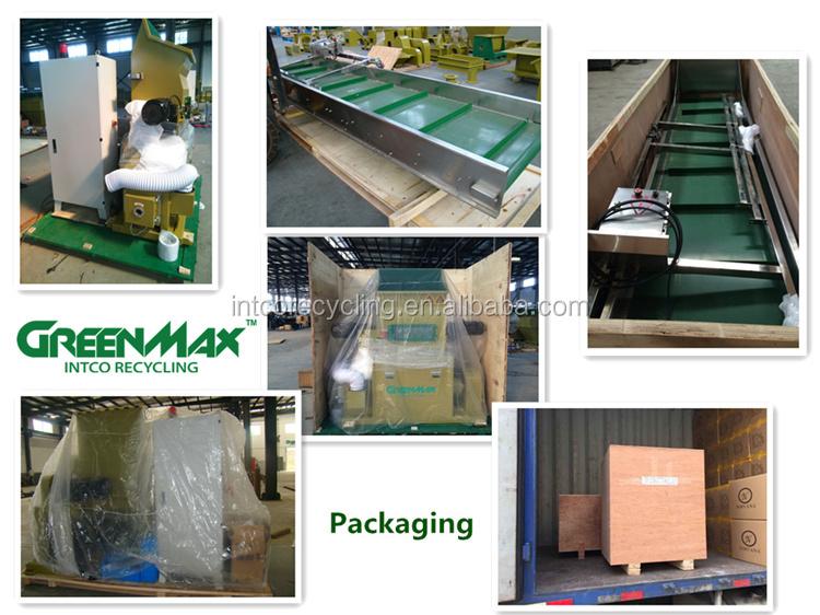 Schroot plastic compactor PET flessen/PE film recycling machine wassen lijn