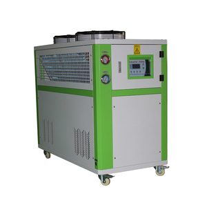 Plastic Industrial Processes Cooling Stainless Steel Immersion Water Cooled Flooded Screw Chiller 5ph