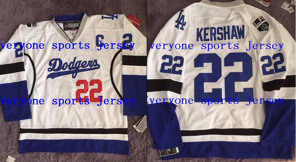 competitive price 548f4 8f6f4 dodgers kings hockey jersey for sale