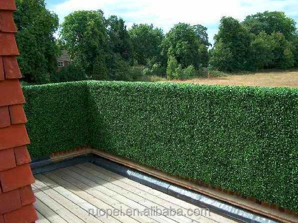 High Quality Artificial Green Grass Wall Fence For