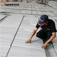white wood vein marble flooring and wall tile for projects
