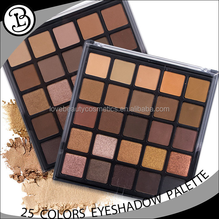 Colorful Lady 25 Colors Eye Shadow High pigments Makeup Naked matte eyeshadow palette