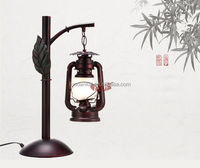Glass lamp shades for restaurant oil table lamp