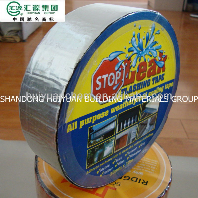 Self-adhesive Aluminum Foil Bitumen Tape/bitumen Band/flashing ...