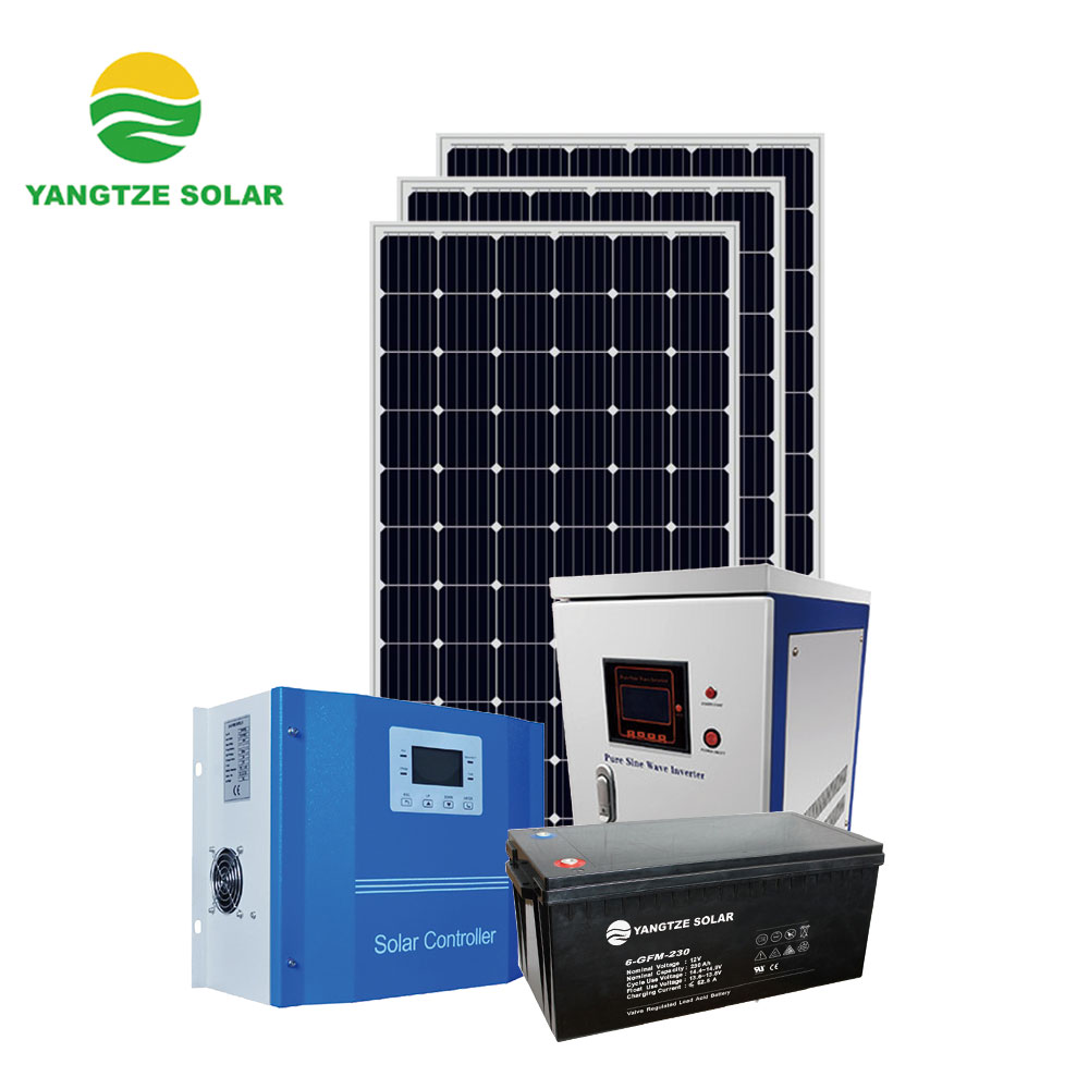 Yangtze complete package 5kw 10kw solar off grid power system