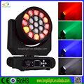 Bee eye 19pcs RGBW 4in1 10w leds zoom moving head led stage