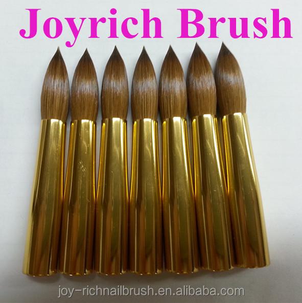 Acrylic Make Up Draws Kolinsky Sable Hair Brush Acrylic Nail - Buy ...