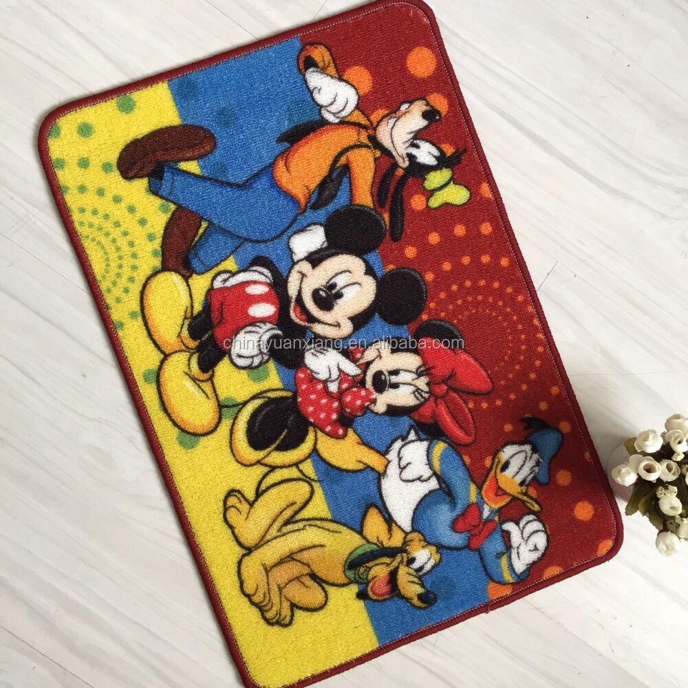 disney mickey mouse design door mat rug carpets with fama